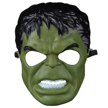 H&D Incredible Hulk Green Giant Mask for Party Halloween Cosplay Costume Accessory Toy Gift Boy Kids(China)