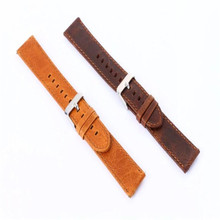 9s cheap Luxury Leather Watch Band Strap Belt For Samsung Gear S3 Frontier Brand New High Quality Luxury #500717(China)