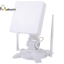 Malloom 2.4 GHz 2.5KM High Gain Outdoor Waterproof 150M USB Wireless Wifi Adapter IEEE802.11G/B/N Stand Holder CD driver(China)
