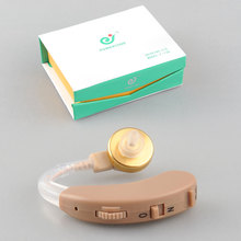 Mini Listening Hearing Aids Aid Personal Sound Amplifier Behind the Ear Volume Adjustable AXON F-138