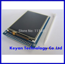 "3.2"" TFT LCD Module Display + Touch Screen Panel + PCB Adapter Blue ILI9341"