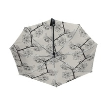 High Quality Elegant Flower Umbrella Clear women's Umbrella Windproof Folding Umbrellas Children Compact Rain Umbrella 3 Folding