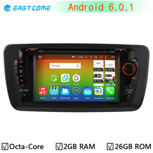4G LTE Android 6.0 Octa Core Cortex A53 PX5 64Bit 2GB RAM 32GB ROM Car DVD Player for Seat Ibiza 2012 2013 2014 GPS Radio Stereo