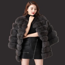 Long mink fur coat sale 2017 new fashion women winter fur imitation fox fur high quality coat artificial fur coat woman