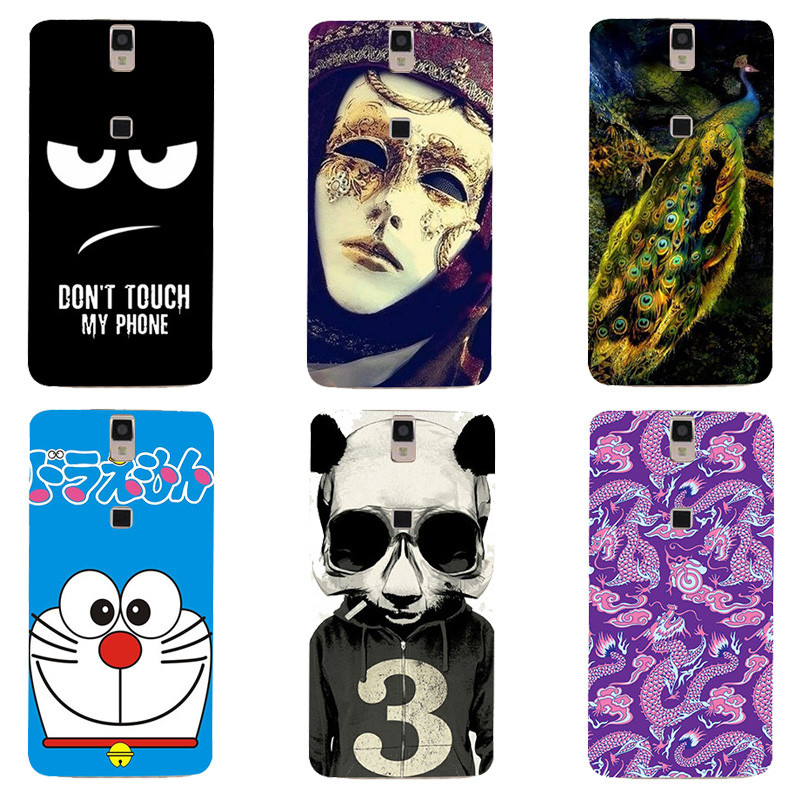 "Cute Cartoon Case Elephone P8000 (2015 edition)5.5"" Cover HD UV Printing Soft Silicone Printed Phone Back Shell Capa Funda"