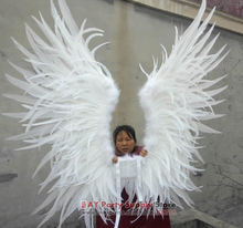 Custom Large angel Feather Wings For Model show Stage performance props Party Wedding Rooster Feather wings EMS Free shipping
