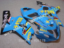Hot Sales,Customized Fairings GSXR750 2005 2004 GSXR 600 04 05 Fairing Kit For Suzuki GSXR600/750 RIZLA (Injection molding)(China)