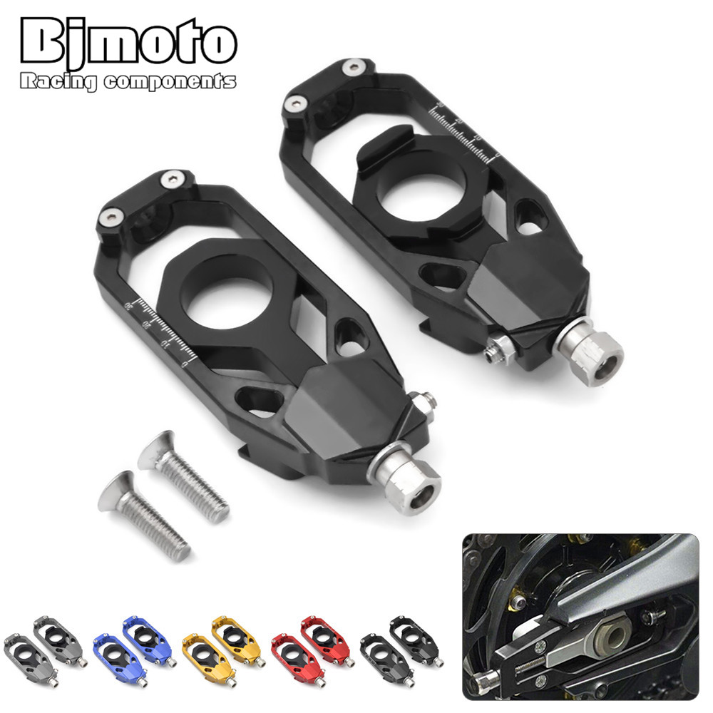 Bjmoto 5colors motorcycle Tmax 530 Tensioner Catena Spindle chain  AdjustersFor Yamaha TMAX530 2013 2014 2015 2016 motorbike<br>