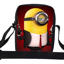 2015 Popular Cute Cartoon Despicable Me Shoulder Bag For Girls Minion Bags For Kids Messenger Bags For School Children Boys Kids
