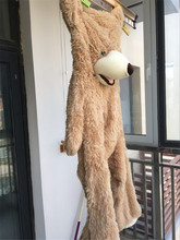 Big Size 200cm American Giant Bear Skin,Semi-finished Teddy bear skin,Kids Chirstmas Teddy Bear Toy
