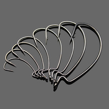 Fishing Soft Worm Bait Hook Quality South Korea Made High Carbon Steel Fishhook Lure Hooks 6#-5/0# 8 Pieces Bag