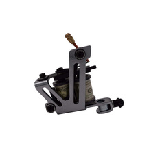 Tattoo machine Free Shipping! Hot Professional Handmade Tattoo Machine Retail or Wholesale 10 Wrap Coils Machine(China)