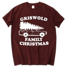 Griswold Family funny vacation 90s christmas movie quote vintage retro Mens T-shirt(China)