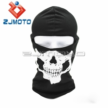 Outdoor Sports Mask Neck Cover Bicycle Cycling Full Face Skull Mask Motorcycle Ski Balaclava Skull