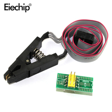 update version SOIC8 SOP8 Test Clip For EEPROM 93CXX / 25CXX / 24CXX in-circuit programming adapters(China)
