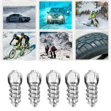 WEHEMO 100pcs 12mm Car Tire Anti-Slip Screw Stud Wheel Tyre Snow Nail Tire Spikes Trim Auto Car SUV Road Safety Protector Winter(China)