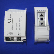 New DM014 High Voltage 90-240VAC 1 Channel Trailing Edge Dimming 110V/110W 220V/220W ON/OFF 3 Key Remote LED RF Dimmer Control