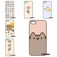 cute funny lovely Pusheen Cat Print Phone Case Cover For LG G2 G3 Beat G4 G4C G5 Mini L70 L90 K8 K10 V10 Nexus 4 5 6 6P 5X