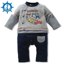 Winter Style Baby Boy Romper Newborn Baby Clothes Originality Excavator design  Clothing Ropa Bebe Children Rompers HB009