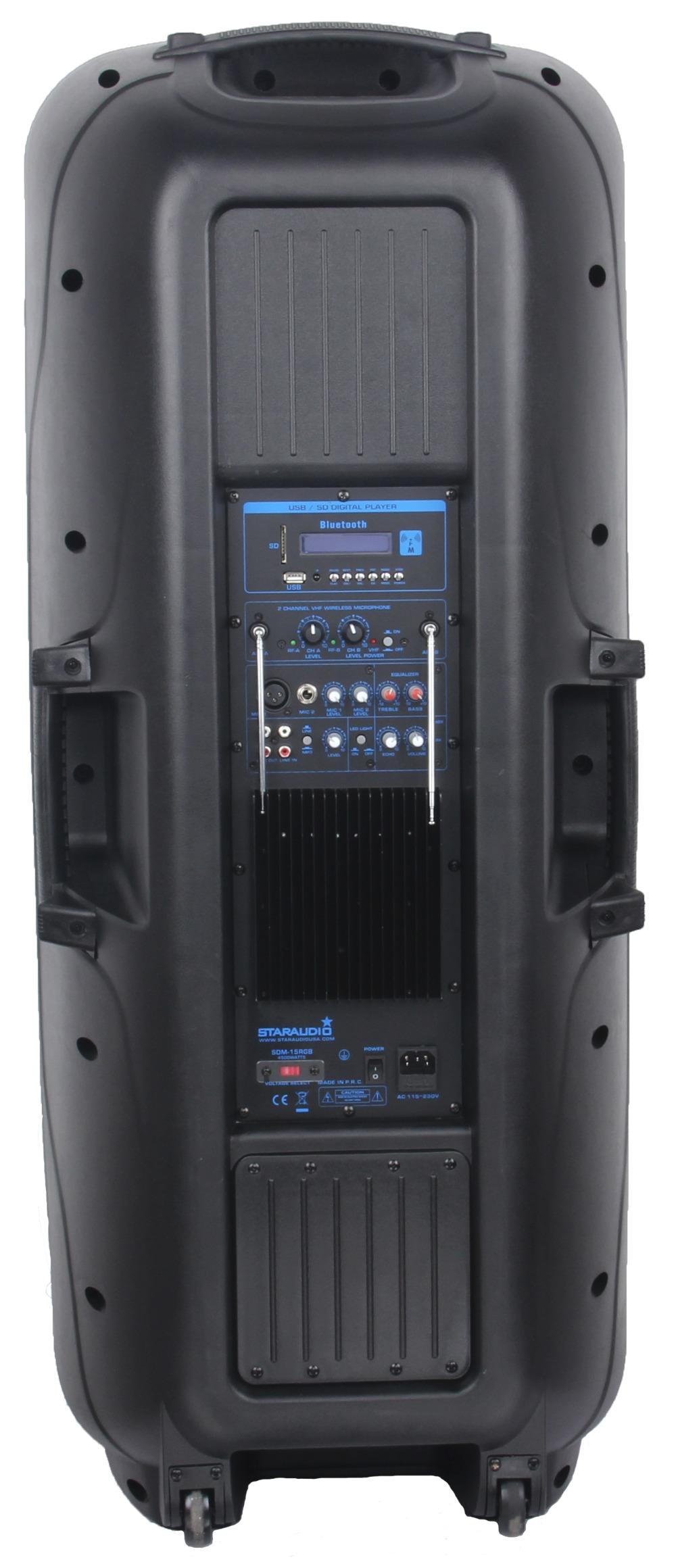 4500w 15\'\' powered speaker (2)