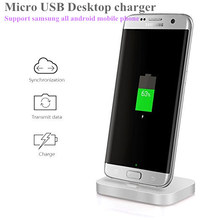 Android mobile phone Charger Dock For Samsung Galaxy S4/5/6/7 edge lg g2 g3 4g Desktop charging dock stand station