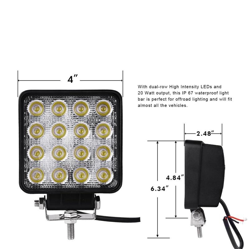 4pcs-48W-Square-LED-Work-Light-Spot-Beam-for-Jeep-Wrangler-ATV-4x4-Rv-Trailer-Fishing (1)