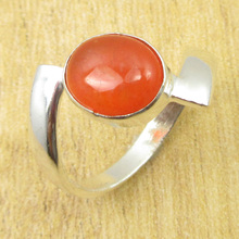 Silver Plated Amazing Carnelian PERSONAL STYLE Ring Size US 10 ONLINE STORE(China)
