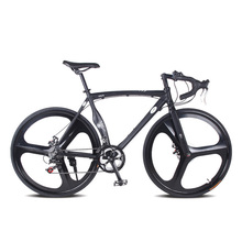 aluminum road bike Fixed gear bike 28 inch 52cm DIY frame Muscular frame Complete 14 speed Road Bike Aluminum Alloy frameType(China)