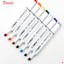 12P Colors self-selection set Marker Pen commonly used Sketch marker copic markers