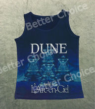 Track Ship+Vintage Fashion Retro Cool Vest Tanks Tank Top Professional Pop Singer Band LArc en Ciel Dune Psychosonic Shake 1256(Hong Kong)