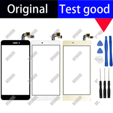 5.5 inch For Xiaomi Redmi Note 4X 100% original and tested Black Color Front Glass Digitize Touch Screen+ Free tools