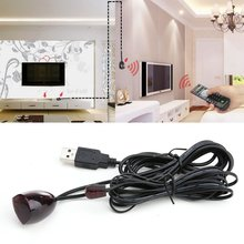High Quality IR Infrared Remote Control Receiver Extender Repeater Emitter USB Adapter 5V Black