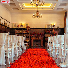 1000Pcs Colorful artificial Rose Soap Flower Hand make False Petal Flower Petal real touch flower Romantic Wedding Party Gift 7z(China)