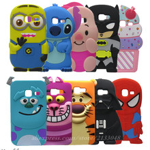 Soft Silicone 3D Cartoon Cases For Samsung Galaxy J1 Mini J105 J105H J1 Mini 2016 SM-J105H SM-J105 J1J1Nxt Duos Phone Back Cover