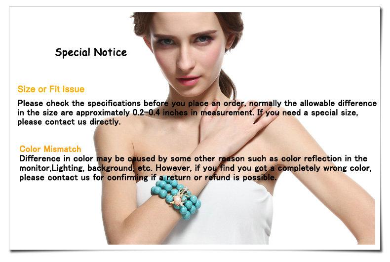 Special Notice-Bead Bracelet