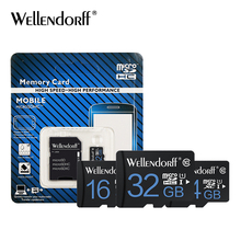 Free shipping 32GB Micro Sd Card 64GB SDHC Class10 Memory Card 16GB 8GB 4GB Transflash Card with retail package