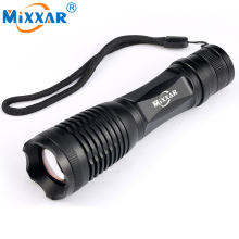 zk50 CREE XM-L2 4500LM Lumens LED Flashlight LED Zoomable T6 LED Torch Lantern Portable Super Bright Flashlight Lantern