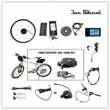 "36V 10AH Lithium Battery Electric Bike 250W/350W/500W eBike Kit Electric Bike Conversion Kit Fit for 20"" 24"" 26"" 700C 28"" bike"