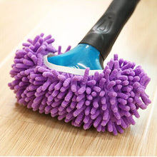 1 Piece Useful Multifunction Mop Slipper Floor Polish Cover Cleaner Dusting Cleaning Foot Shoes No Rod and Tray(China)