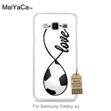 On Sale Luxury Cool Phone Accessories Case For GALAXY A3 case  Football Design Custom