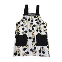 Mickey aprons cotton kitchen Apron Woman Floral Cooking Divertido Tablier Cuisine Pinafore Salon Avental de Cozinha