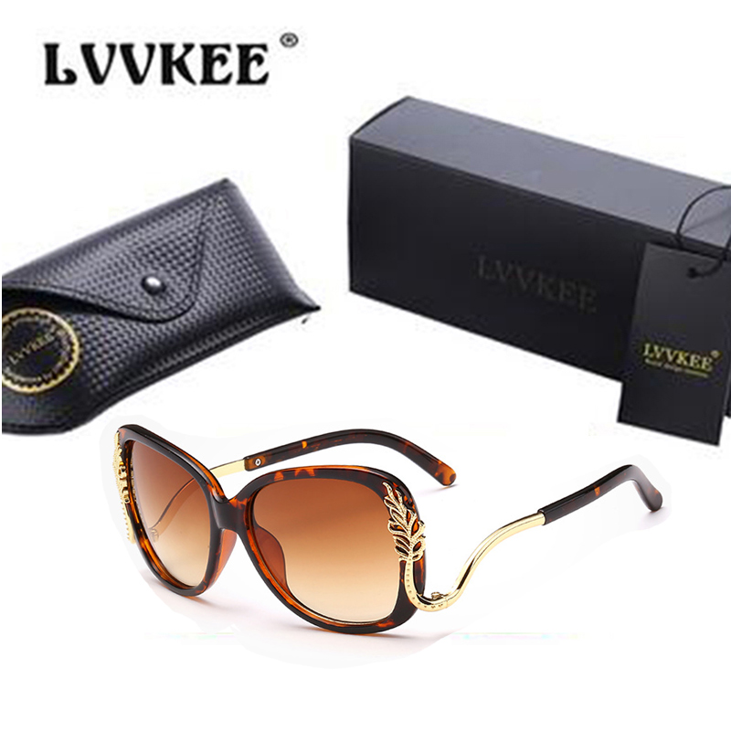 Vintage oversized sunglasses women designer Crescent Windows Super Deluxe metal frame high quality outdoor driving<br><br>Aliexpress