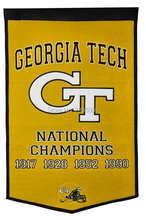 Georgia Tech Yellow Jackets College Basketball Banner Flag Polyester grommets 3' x 5' Custom metal holes Football Flag(China)