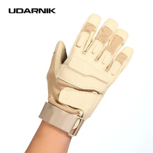 Military Tactical Gloves USA Special forces tactical outdoor Men fighting fingerless Gym Sport Hunt Police Soldier 053-258(China)