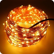 10M 20M 30M 50M Waterproof Silver/Copper led string DC12V with DC connector Fairy light holiday decoration outdoor street Garden(China)
