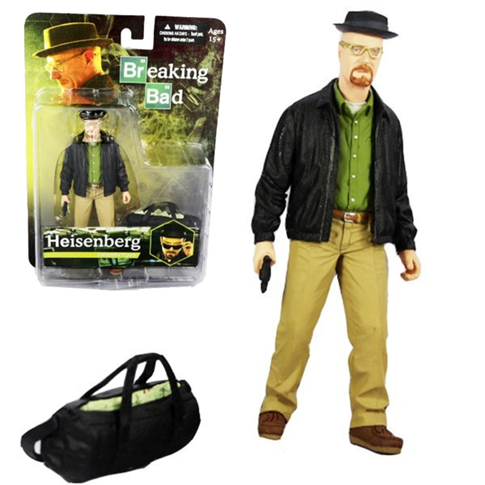 Mezco Breaking Bad Heisenberg Collectible 16cm/6.3 Figure Free Shipping <br>