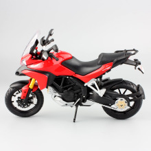 1:12 Children's mini Multistrada 1200S metal diecast models motorcycle race car gift moto miniature collectible display for boys(China)