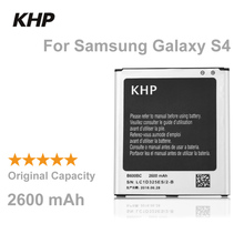 100% Original Brand KHP Phone Battery For Samsung Galaxy S4 IV I9500 I9502 I9505 I9508 NFC Built-in Replacement Mobile Batteries