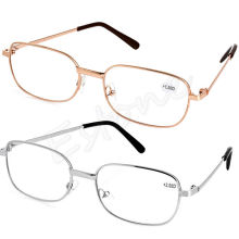 Fashion Metal Anti-fatigue Reading Glasses Men Women +1.00 1.50 2.00 2.50 3.00 3.50 4.00 Diopter