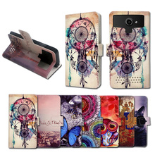 Newest Hot Sale Ultrathin Stand function Printed Cartoon 5.5'' Universal PU Leather Book case for VKworld G1 Giant,Gift